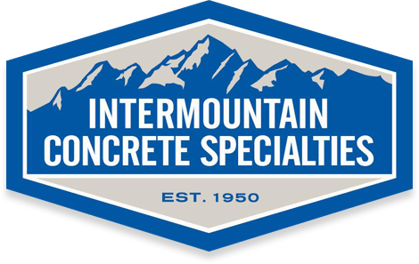intermountain concrete specialties logo